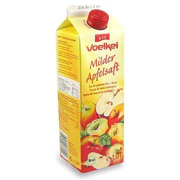 德國維可 Voelkel 有機蘋果汁 Demeter 1000ML/罐