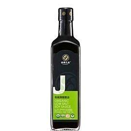 喜樂之泉 有機薄鹽醬油500ml/罐