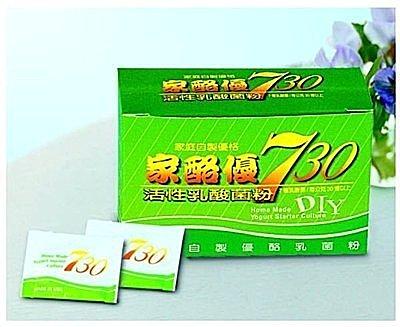 家酪優730 自製優格乳酸菌種 6盒入