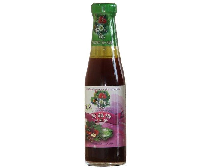 金椿茶油工坊 茶油紫蘇梅和風醬 265g 瓶 阿邦小舖