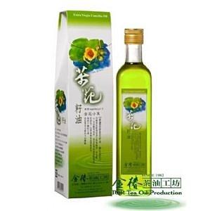 金花小菓 500ML 茶花籽油 頂級苦茶油 金椿茶油工坊