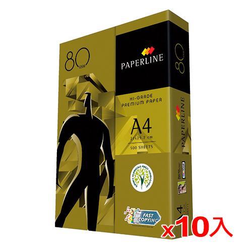 【10件超值組】金牌 A4多功能影印紙80磅500張【愛買】