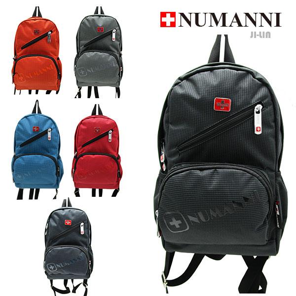 85-2201【NUMANNI 奴曼尼】功能性容量尼龍單肩後背包 (六色)