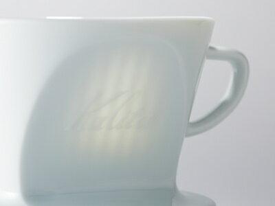 Kalita 波佐見燒Hasami 白色陶瓷梯形濾杯 (1-4人份) 咖啡濾杯《vvcafe》 1