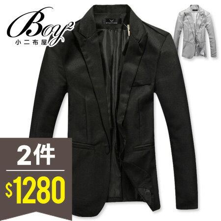 ☆BOY-2☆【NZ910】韓版紳士質感西裝外套 0
