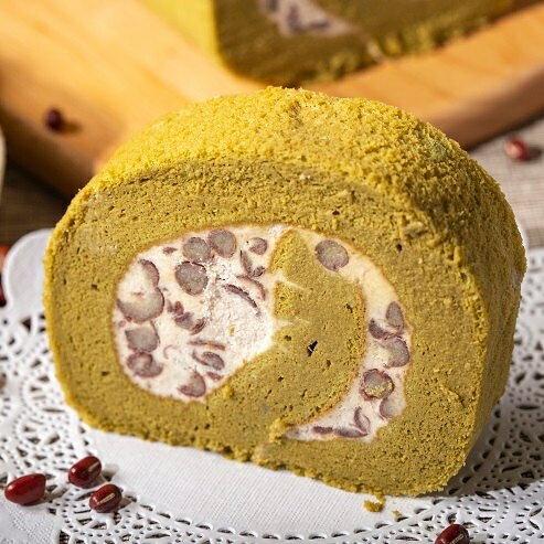 ❤抹茶紅豆生乳卷 ❤抹茶蛋糕  ❤人氣團購甜點 ❤伴手禮最佳選擇  570g 0