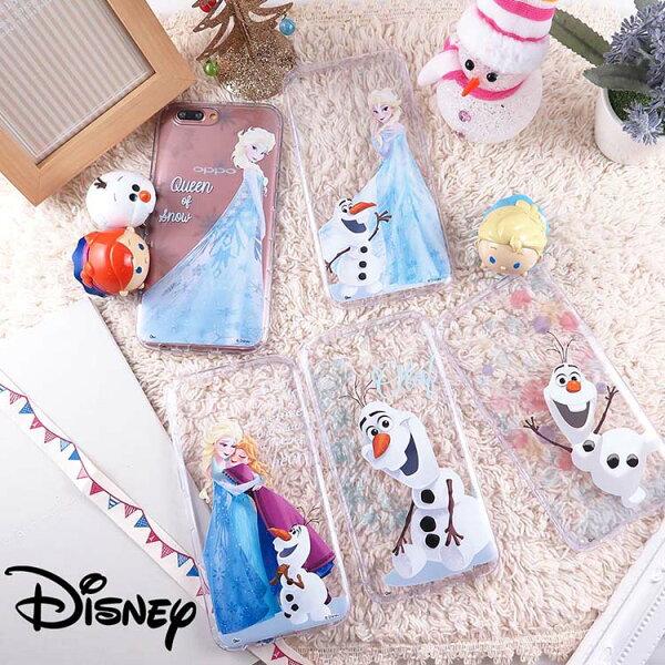 Miravivi:Disney迪士尼OPPOR11sOPPOR11冰雪奇緣系列空壓保護套