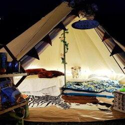 【May Shop】bell500 大型鐘形帳篷蒙古包印地安帳篷