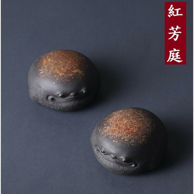 【紅芳庭】將軍龜 / 蓋置 壺蓋托 茶寵 茶玩 手工 紫砂 泡茶用具 茶配件