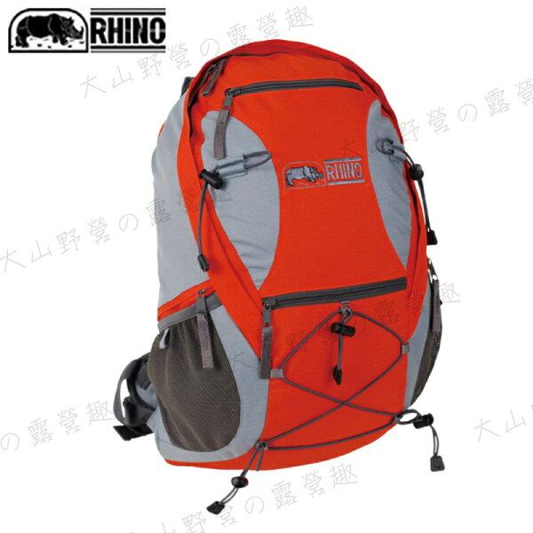【露營趣】中和安坑 RHINO 犀牛 台灣製造 G520 20公升透氣網架背包 登山背包 休閒背包 自行車背包