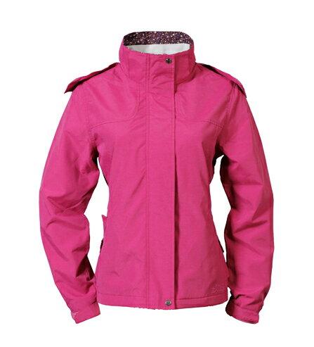 女防風潑水天鵝絨外套 莓紫紅  3222 - 限時優惠好康折扣