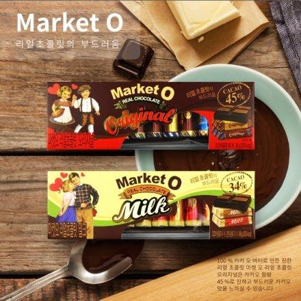 韓國 Market O 經典巧克力 36g【櫻桃飾品】【28462】