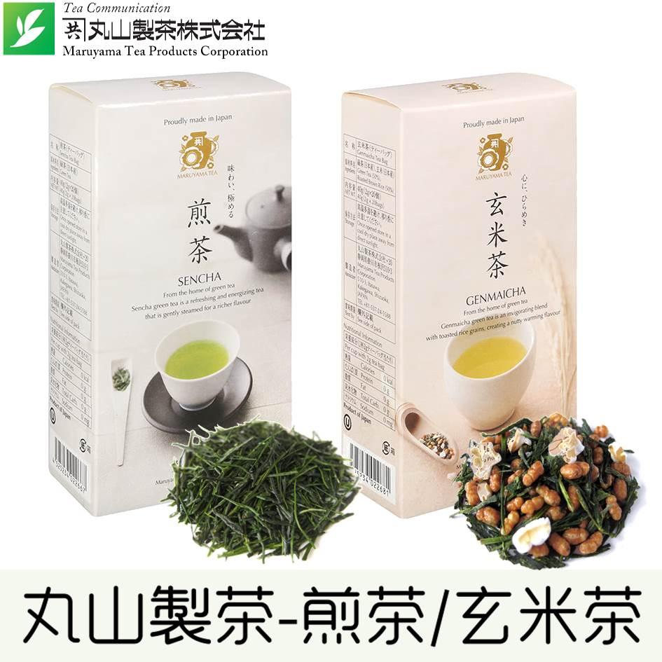 【丸山製茶】煎茶茶包20入  /  玄米茶茶包20入 40g 日本進口茶包 常溫配送 0