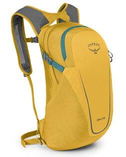 【Osprey美國】DAYLITE13輕便背包健行背包旅行背包水袋背包攻頂包櫻草黃〈容量13L〉Daylite13