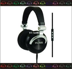 弘達影音多媒體 KOSS PRO DJ200  iPhone  折疊 監聽  耳罩式 公司貨 現貨供應 門市展售免運費!