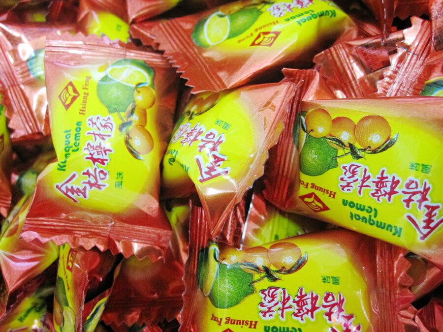 年貨大街 ‧散糖硬糖區‧金桔檸檬糖 600g(一斤)【合迷雅好物超級商城】