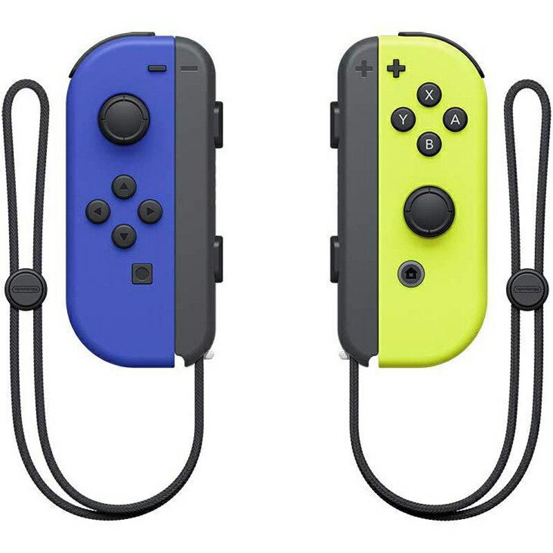 (促銷)任天堂 Nintendo Switch Joy-Con 左右手把 -藍/電光黃 臺灣公司貨 現貨