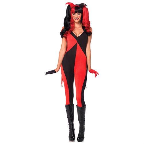 Jingle Jester Sexy Costume - Jester Costumes 0