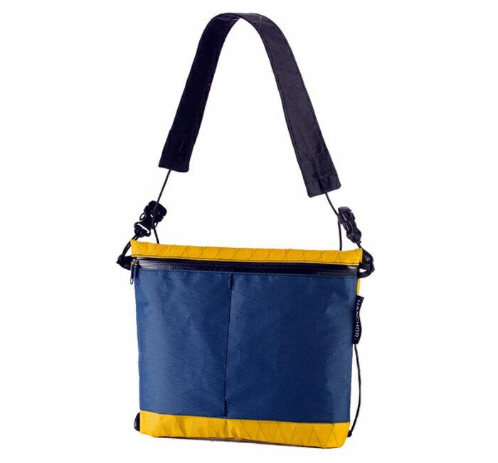 【HANCHOR 台灣】SURFACE 輕量化胸前斜背包-黃藍色∕隨身側背包 旅行隨身袋∕OD04