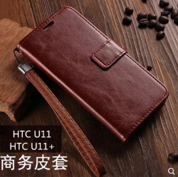 HTCU11PLUS星奇翻蓋商務保護皮套