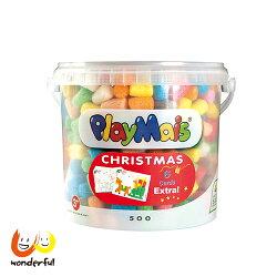 Playmais玩玉米創意黏土耶誕隨身桶