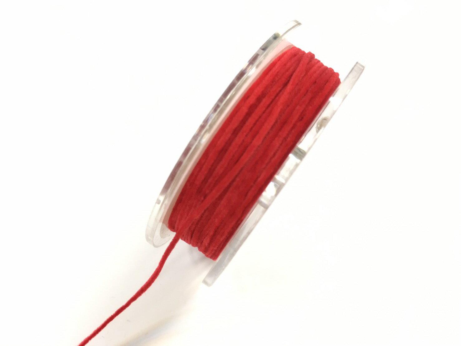 【Crystal Rose緞帶專賣店】精緻絨線 10碼 (3種尺寸) 2