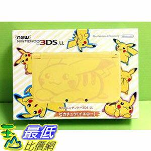 (刷卡價) (送原廠變壓器)全新 NEW 3DS LL太陽 月亮 皮卡丘限定機 日規機 精靈寶可夢 主機