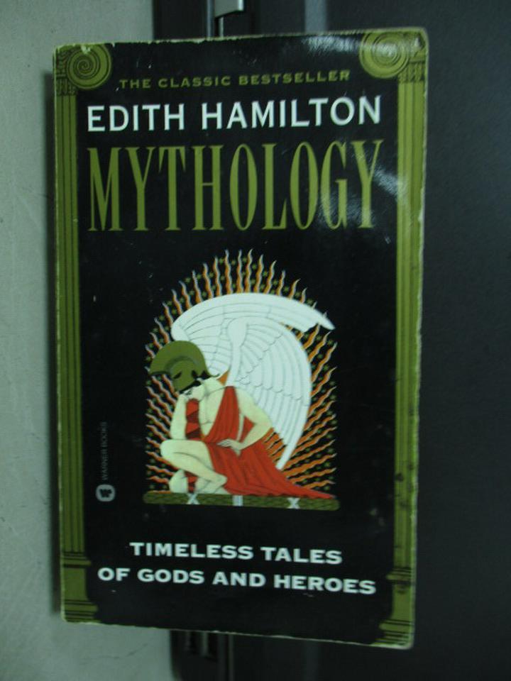 【書寶二手書T6/原文小說_KAQ】Edith  Hamilton Mythology