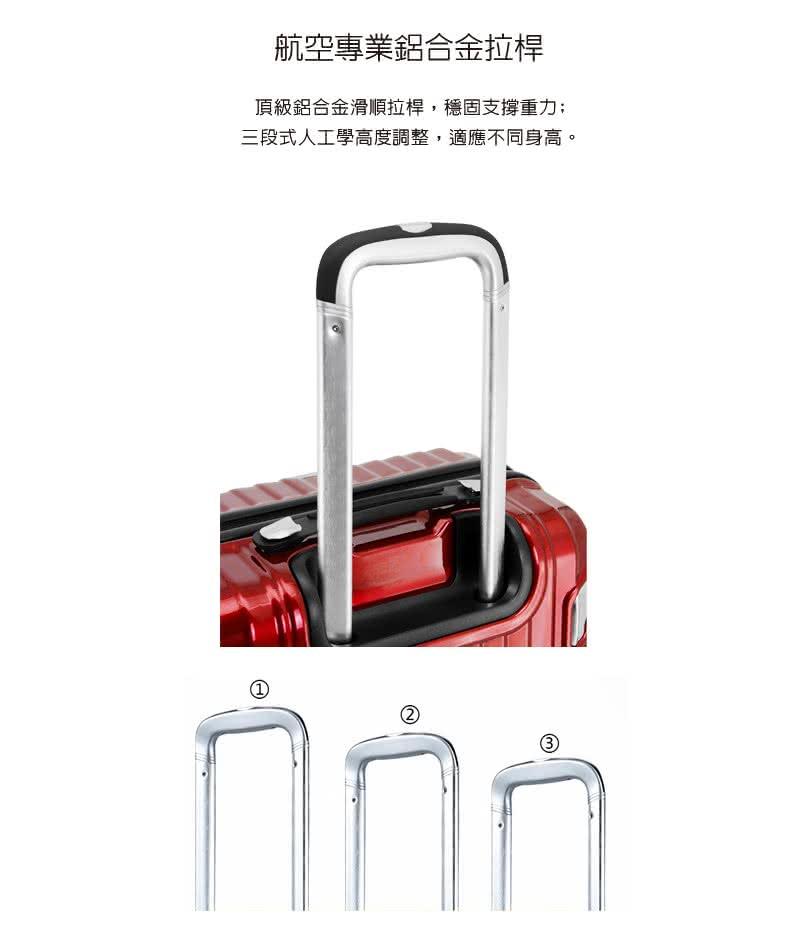【departure 】Sant Andrea亮面 27吋 行李箱 / 旅行箱-3色-現貨 4