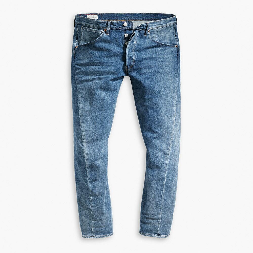 Levis 男款 上寬下窄  /  541低腰寬鬆牛仔褲  /  LEJ 3D褲  /  復古水洗 2