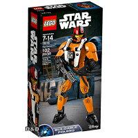 樂高積木LEGO《 LT75115 》STAR WARS™ 星際大戰系列 - Poe Dameron™