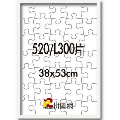 P2拼圖網:白色-520L300片鋁框