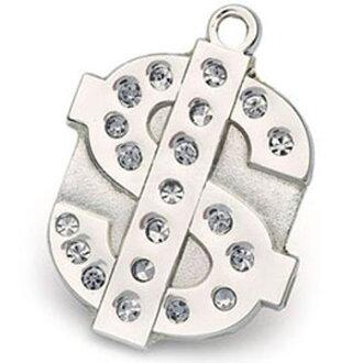 【Hamish McBeth】澳洲品牌BlingBling水晶吊牌(錢幣/銀色)