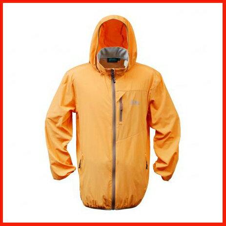 男抗UV單層風衣 - 橘 3449 - 限時優惠好康折扣