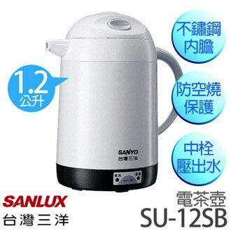SANLUX 三洋 SU-12SB 電茶壺