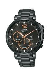 ALBA 雅柏錶 廣告款 AT3E05X1-黑/44mm