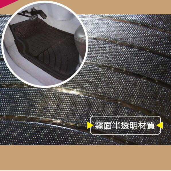 e系列【Car Mats 汽車用透明腳踏墊】1組三片裝/防水/防滑/完美/貼合:::限宅配