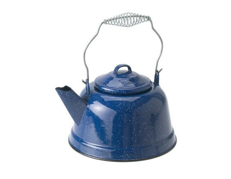 ~登山樂~美國 GSI Tea Kettle 砝瑯茶壺~藍 # 14021