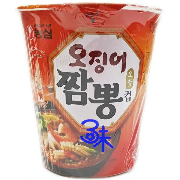 (韓國) 農心 魷魚炒碼杯麵 1碗 67 公克 特價 40 元 【8801043015745 】