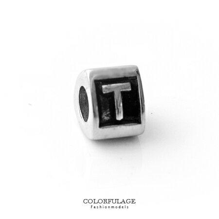 組合字母串珠手鍊 自由搭配鋼墜手環 T字母 柒彩年代【NT4】CHARMS - 限時優惠好康折扣