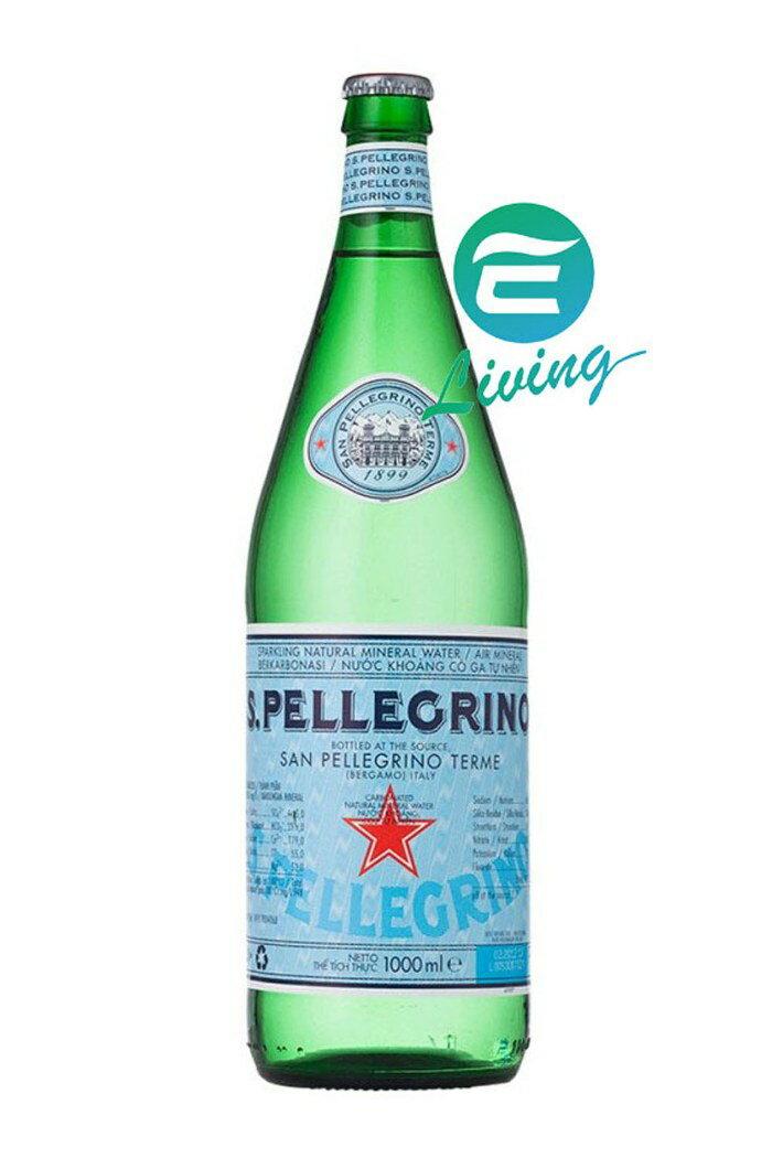 S.Pellegrino 氣泡水 (1000ml)-玻璃瓶 #18602