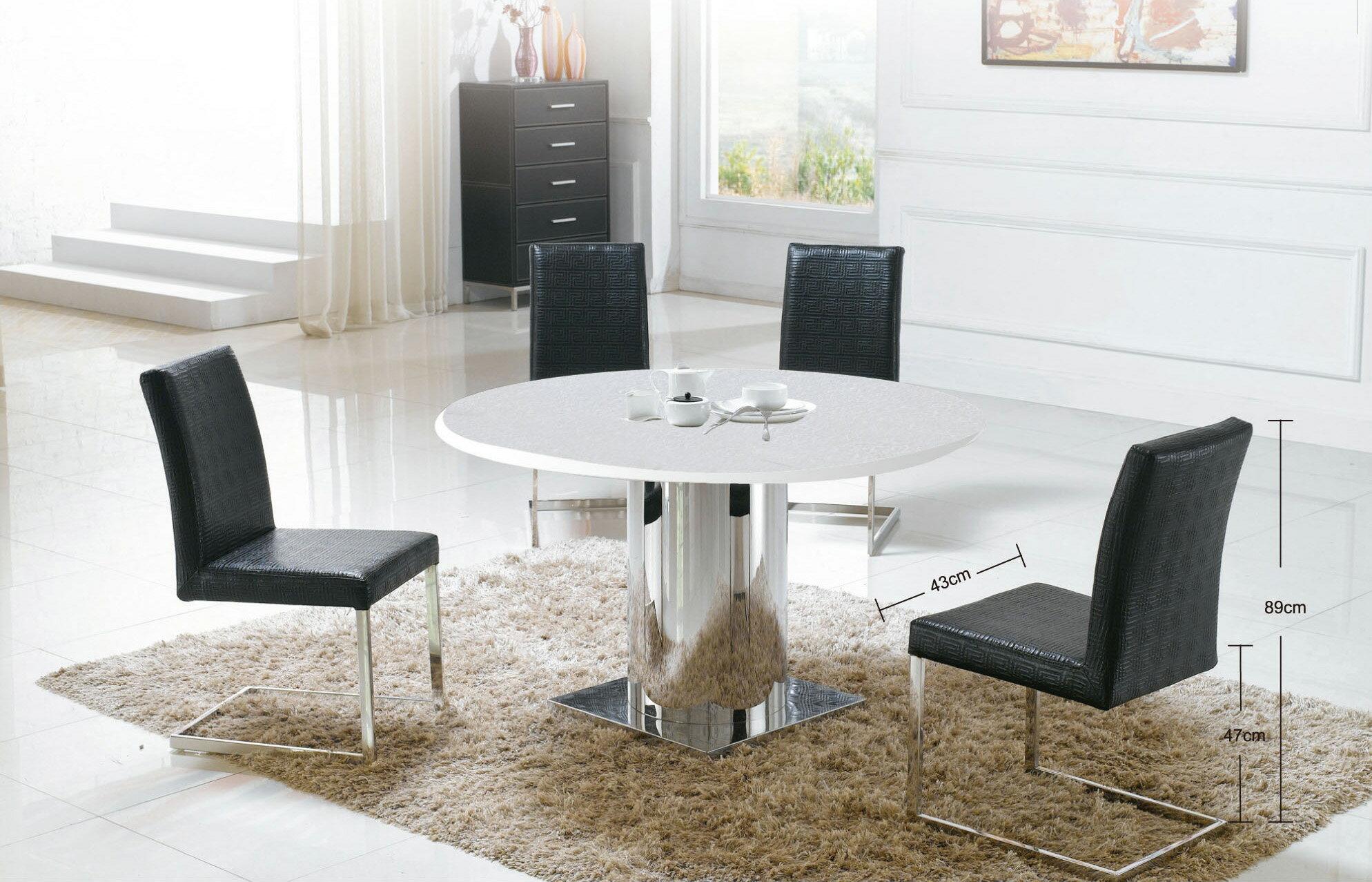 【尚品傢俱】JJ-6402 不鏽鋼餐椅