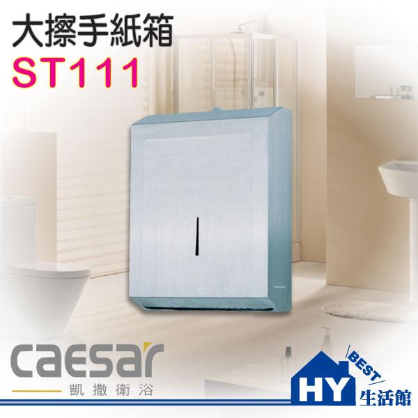 Caesar 凱撒衛浴 ST111 大擦手紙箱 擦手紙架《HY生活館》水電材料專賣店