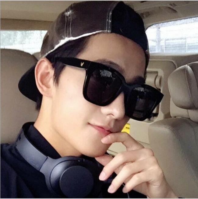 50%OFF SHOP~J022379GLS~2017 楊洋款太陽眼鏡炫彩反光墨鏡男女潮流