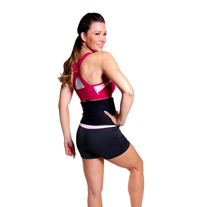 Tone Fitness Waist Slimmer Belt, Black 2
