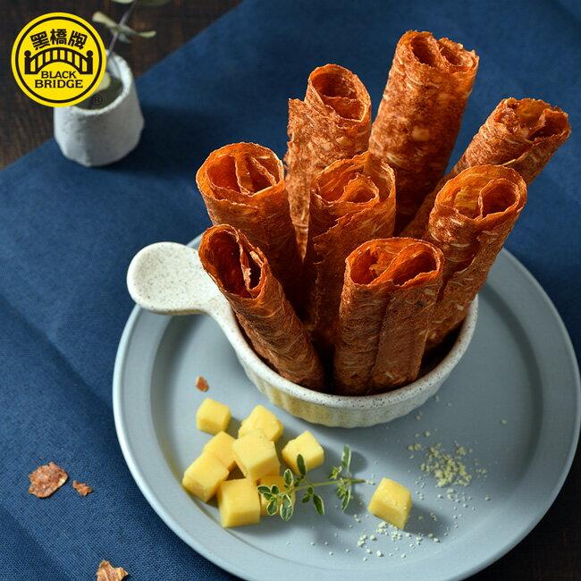 【黑橋牌】黃金起司脆片肉乾+泰式檸檬厚脆片肉乾,限時特惠88折↘$308 3