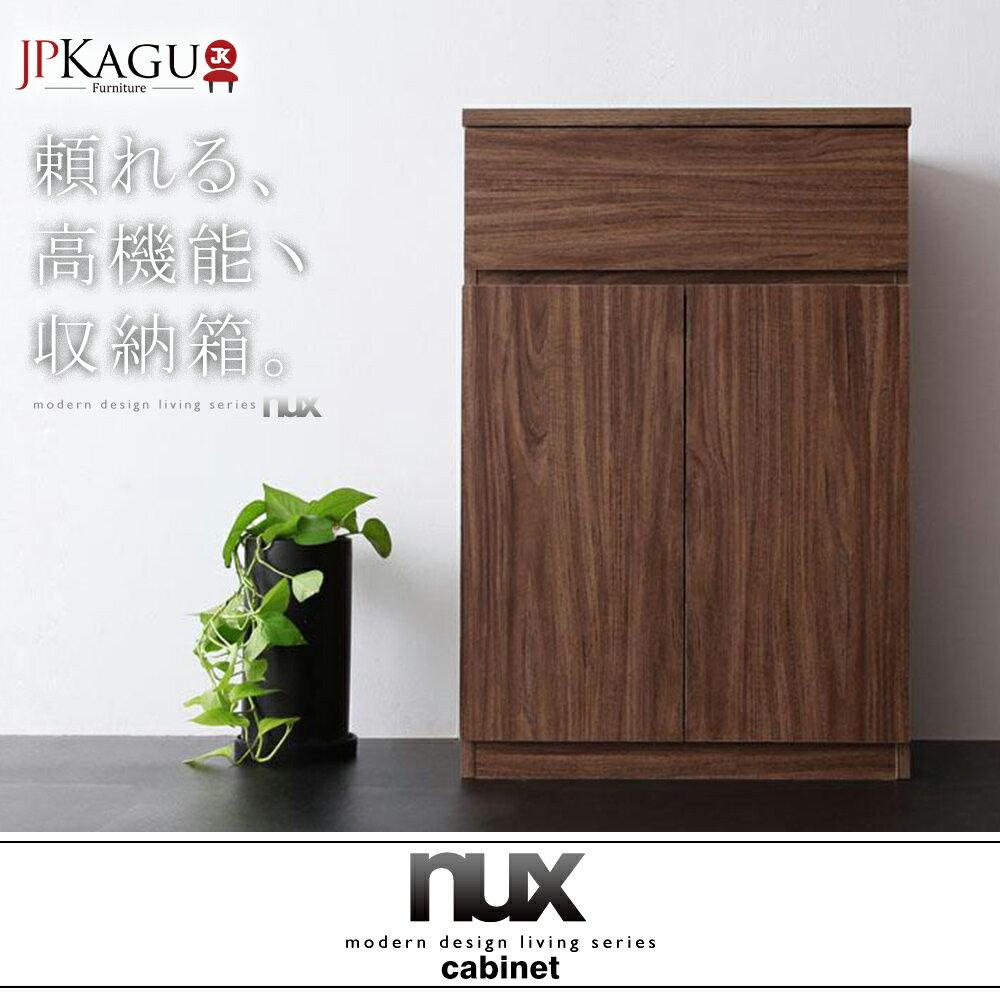 JP Kagu 日系簡約時尚雙門抽屜收納櫃 / 櫥櫃(BK18402) - 限時優惠好康折扣