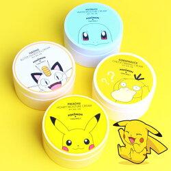 韓國 TONYMOLY x Pokemon 果凍水凝霜 300ml 保濕霜 面霜 寶可夢 神奇寶貝 皮卡丘 傑尼龜 喵喵 可達鴨【B062319】