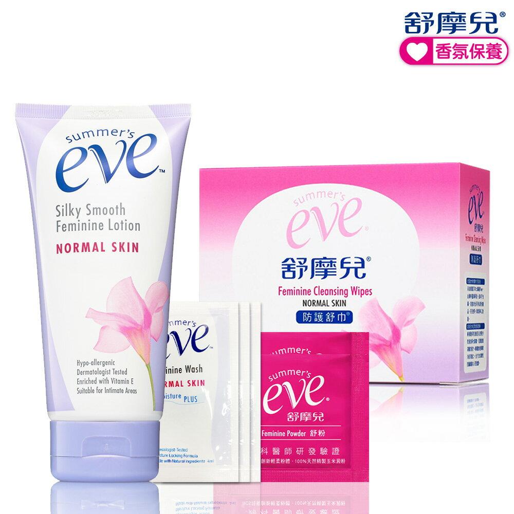 Eve舒摩兒 嫩白舒巾超值組