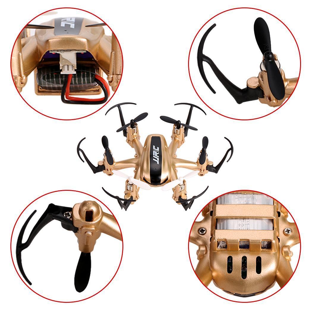 JJRC H20 2.4G 4CH 6-Axis Gyro Nano Hexacopter RTF Quadcopter Gold TXST 2